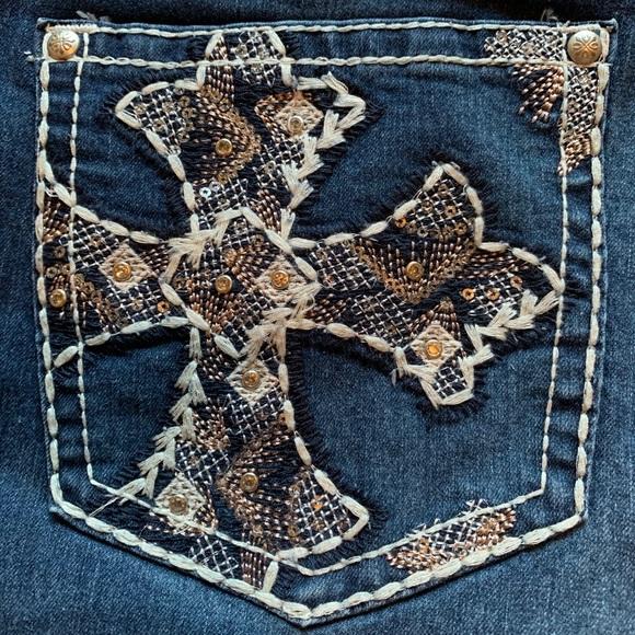 NWT Love Indigo Cross Pocket Bootcut Jeans - Tall